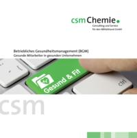Gesund und fit bleiben! Besonders im Job - da hilft die csmChemie GmbH: https://csm.chemie.com/gesundheitsmanagement.html