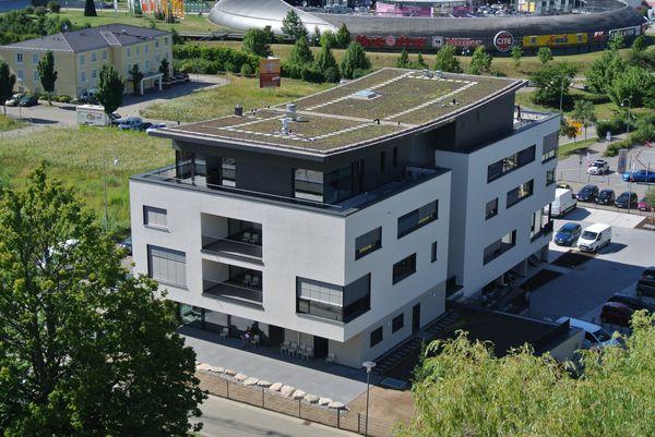 Das Haus der Akademie und der Verbände in Baden-Baden - Allee Cité 1. ChemieBW-Haus - Foto: ChemieBW