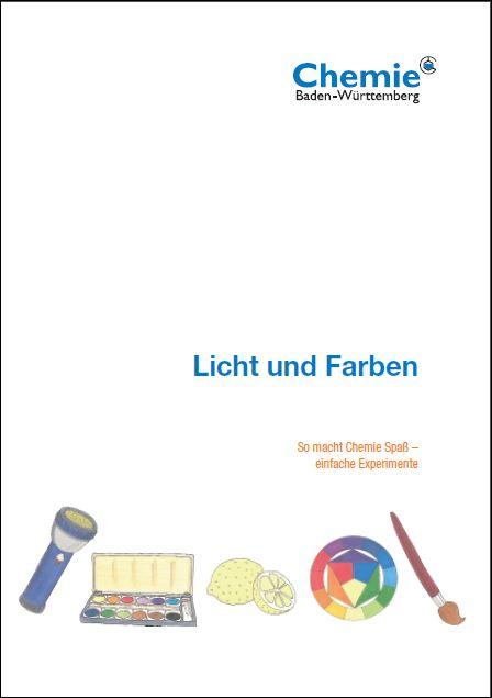 """Arbeitsblatt Licht Und Farben : Chemie verbände baden württemberg """"licht und farben"""